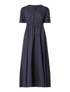 Sukienka MaxMara z krótkim rękawem z bawełny maxi