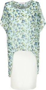 Sukienka Fokus z tkaniny midi asymetryczna