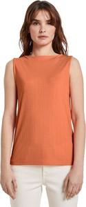 Pomarańczowa bluzka Tom Tailor