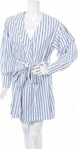Niebieska sukienka Bik Bok mini w stylu casual