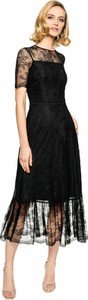 Czarna sukienka L'AF midi