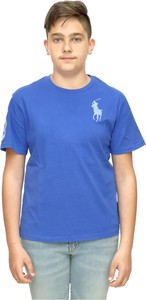Koszulka dziecięca POLO RALPH LAUREN z bawełny