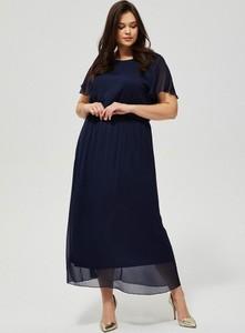 Sukienka Moodo maxi z szyfonu