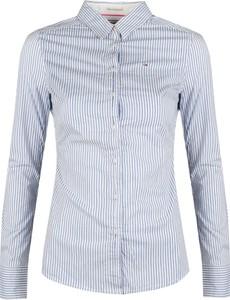 Koszula ubierzsie.com w stylu casual z długim rękawem