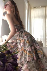 Sukienka Trendyol maxi rozkloszowana