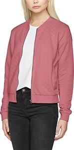 Fioletowa kurtka Only w stylu casual