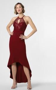Sukienka Lipsy asymetryczna bez rękawów