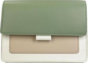Zielona torebka DeeZee średnia na ramię