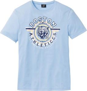 T-shirt bonprix bpc bonprix collection z krótkim rękawem w młodzieżowym stylu