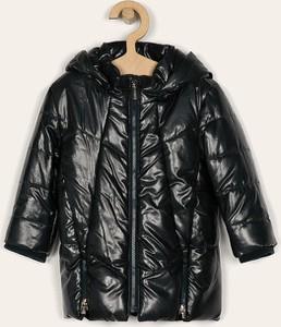 Czarna kurtka dziecięca Mayoral z tkaniny