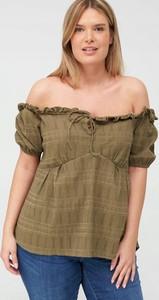Zielona bluzka V by Very