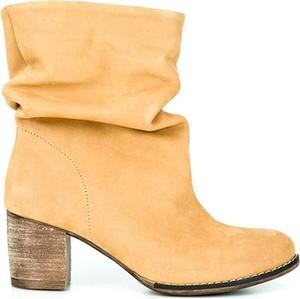 Botki Zapato z nubuku