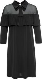 Czarna sukienka bonprix bodyflirt boutique w stylu boho
