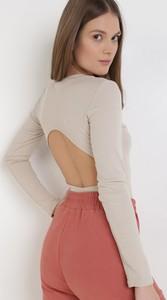 Bluzka born2be w stylu casual z okrągłym dekoltem