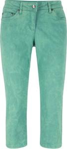 Zielone spodnie bonprix bpc bonprix collection