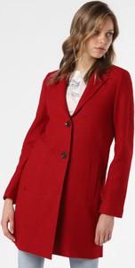 Czerwony płaszcz Marie Lund z wełny