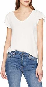 Bluzka amazon.de w stylu casual z dekoltem w kształcie litery v
