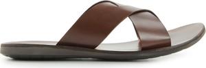 Brązowe buty letnie męskie Tresor