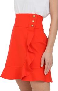 Czerwona spódnica Pinko