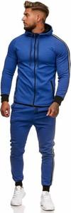 Niebieski dres Moda Dla Ciebie z bawełny