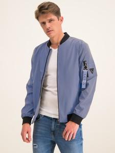 Niebieska kurtka Guess