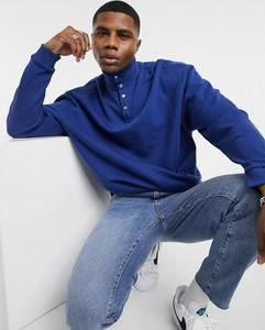 Niebieska bluza Asos z bawełny