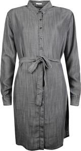 Sukienka Tommy Hilfiger z kołnierzykiem midi w stylu casual