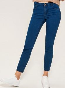 Granatowe jeansy House z jeansu