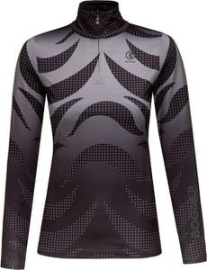 Czarny sweter Bogner w stylu casual z tkaniny