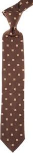 Brązowy krawat Moschino