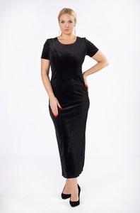Czarna sukienka candivia.pl maxi