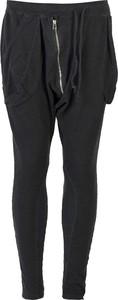 Czarne spodnie ubierzsie.com z tkaniny