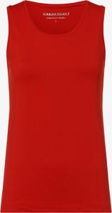 Czerwony top Apriori w stylu casual