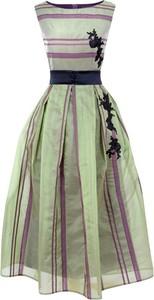 Zielona sukienka Kasia Zapała