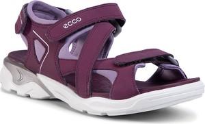 Buty dziecięce letnie Ecco na rzepy ze skóry ekologicznej