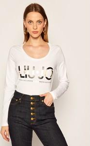 Bluzka Liu-Jo z długim rękawem z okrągłym dekoltem