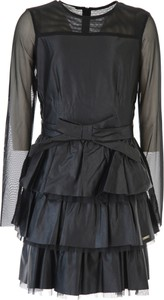 Czarna sukienka dziewczęca Liu-Jo