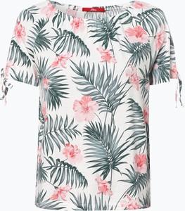 T-shirt S.Oliver w stylu casual z krótkim rękawem