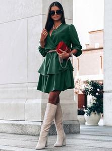 Zielona sukienka Pakuten mini