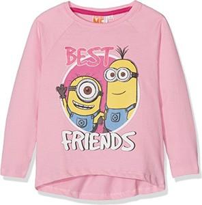 Różowa bluzka dziecięca LES MINIONS