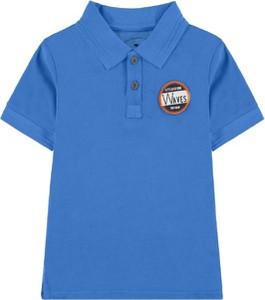 Niebieska koszulka dziecięca Tom Tailor z krótkim rękawem z bawełny dla chłopców