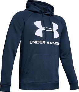Niebieska bluza Under Armour z nadrukiem