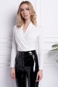 Bluzka Ella Boutique z dekoltem w kształcie litery v