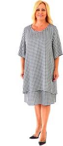 Sukienka Roxana - sukienki z satyny midi