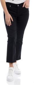 Czarne spodnie Liu-Jo w stylu retro