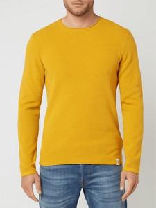 Żółty sweter McNeal z bawełny