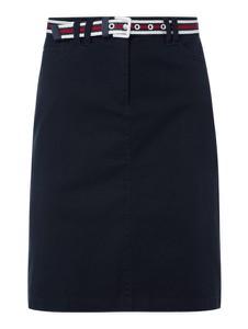 Granatowa spódnica Christian Berg Women z bawełny