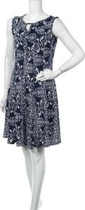 Niebieska sukienka Haani bez rękawów mini