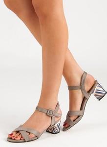 Brązowe sandały Czasnabuty