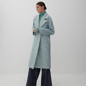 Płaszcz Reserved krótki z wełny bez kaptura